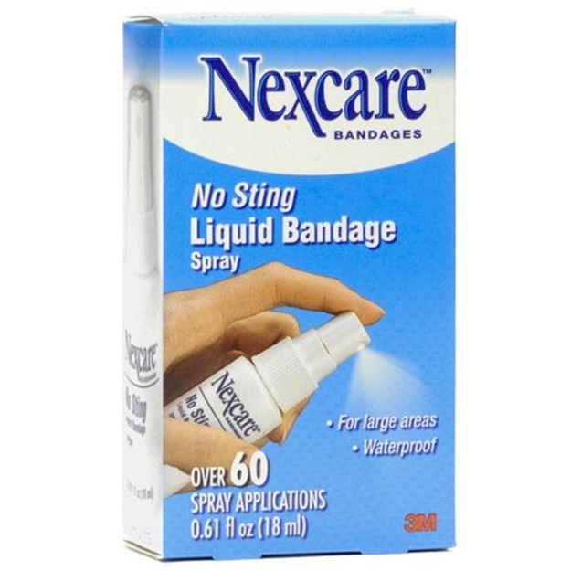 Picture of 3M Nexcare - No Sting Liquid Bandage Spray