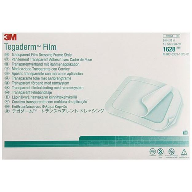 Picture of 3M Tegaderm - Transparent Film Dressing Frame Style