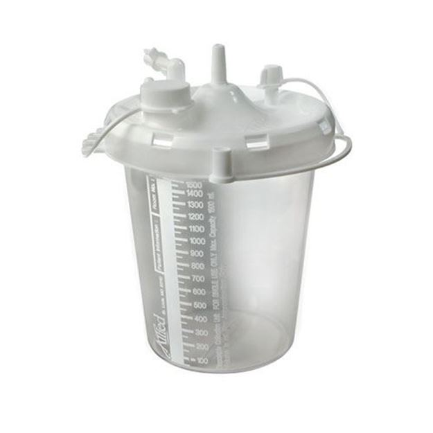Picture of Allied - Gomco OptiVac G180 Suction Machine/Aspirator Disposable Collection Canister
