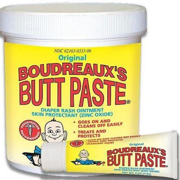 Picture of Boudreaux's Butt Paste - Diaper Ointment Moisture Barrier