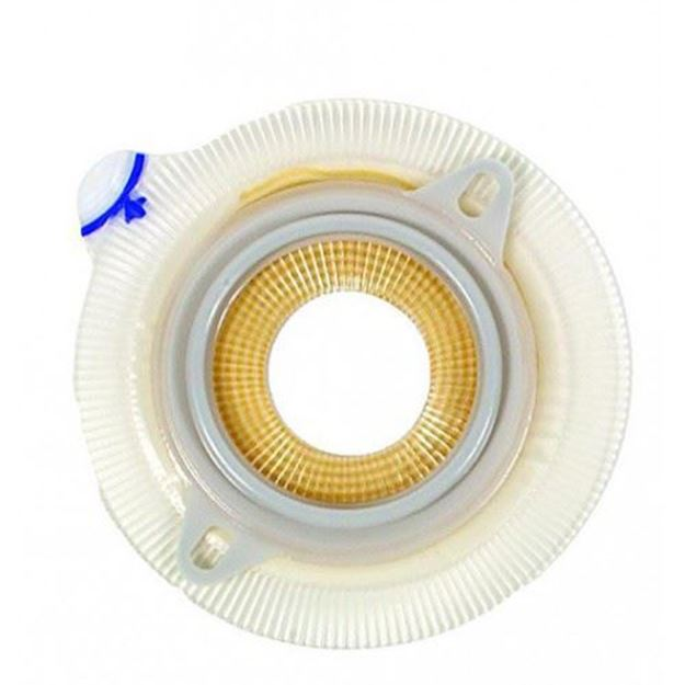 Picture of Coloplast Assura Extra - Convex Light Extended Wear Skin Barrier with Belt Tabs (Pre-cut)
