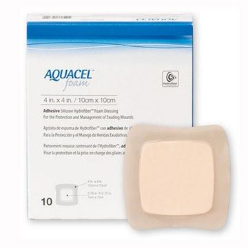 Picture of Aquacel - Foam Dressing with Adhesive Border