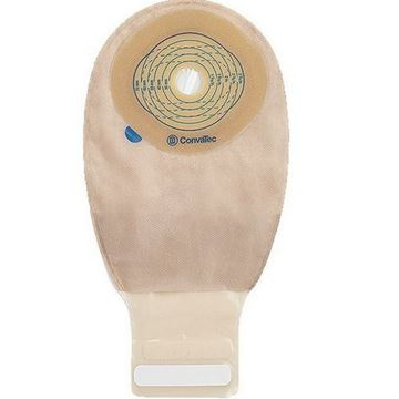 Picture of ConvaTec Esteem Plus - 1-Piece Drainable Ostomy Bag and wafer (InvisiClose Tail - Modified Stomahesive - Cut to Fit)