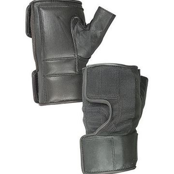 Picture of Hatch - Fingerless Leather/Spandex Wheelchair Gloves