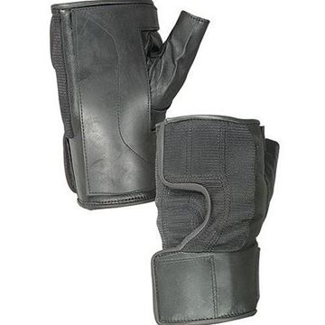Picture of Hatch - Fingerless Wheelchair Gloves with Rubber Reinforced Palms