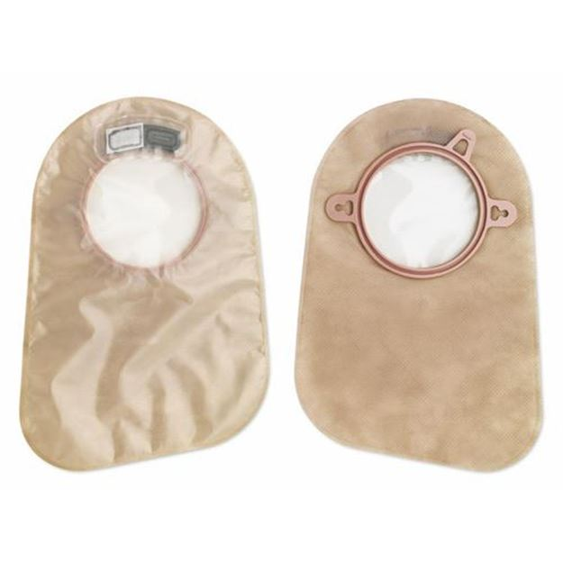 """Picture of Hollister New Image - 9"""" 2-Piece Closed Ostomy Bag with Filter (QuietWear)"""