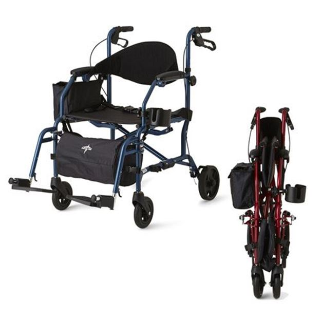Picture of Medline - Combination Rollator/Transport Chair