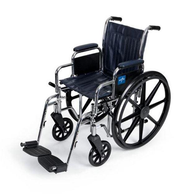 Picture of Medline Excel - 2000 Wheelchair (Desk-Length Armrest)