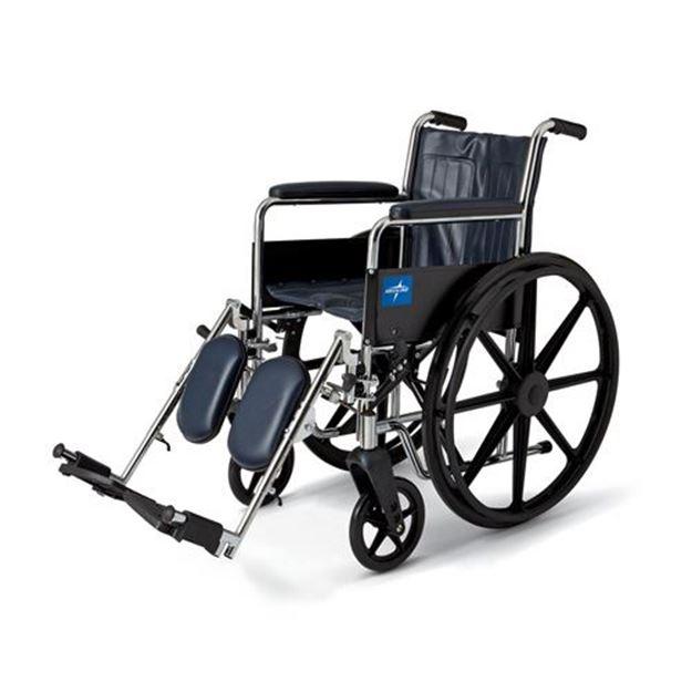 Picture of Medline Excel - 2000 Wheelchair (Full Length Armrest)