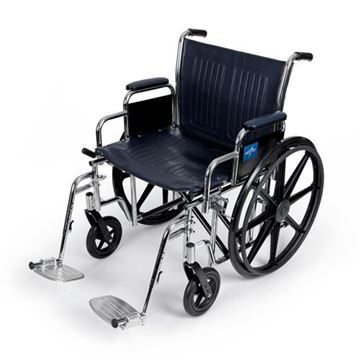 Picture of Medline Excel - Extra-Wide Wheelchair (Desk-Length Armrest)