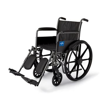 Picture of Medline Excel - K1 Basic Wheelchair (Full Length Armrest)