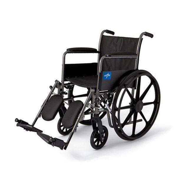 Picture of Medline Excel - K1 Basic Wheelchair (Full Length Armrest)