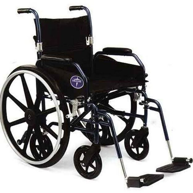 Picture of Medline Excel Hybrid 2 - Combination Wheelchair/Transport Chair