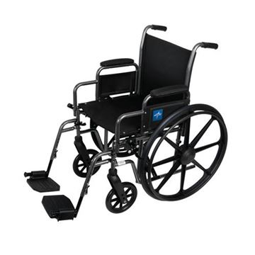 Picture of Medline K2 Basic - Wheelchair (Desk-Length Armrest)