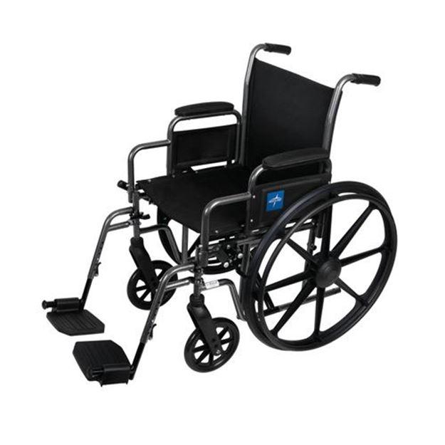 Picture of Medline K2 Basic - Wheelchair (Desk-Length Armrest)