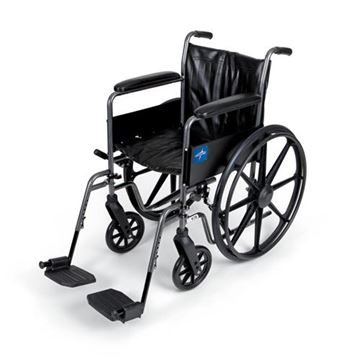 Picture of Medline K2 Basic - Wheelchair (Full-Length Armrest)