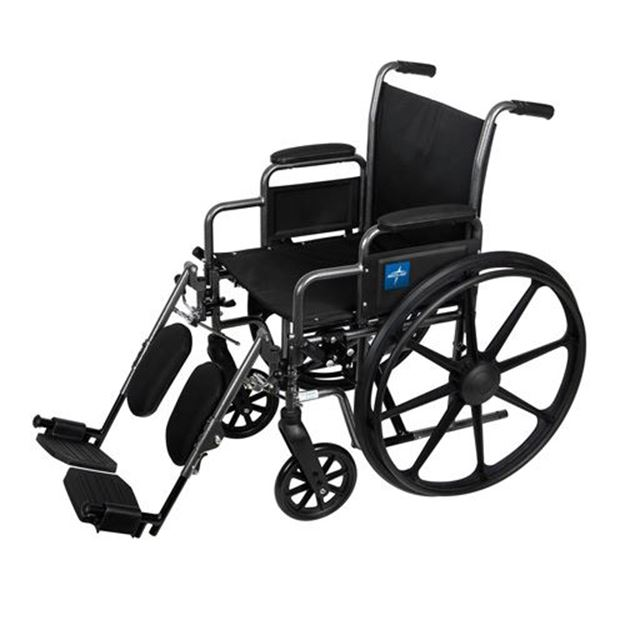 Picture of Medline K3 Basic - Lightweight Wheelchair (Desk-Length Armrest)