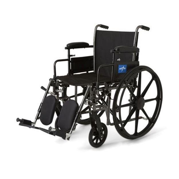 Picture of Medline K3 Basic - Plus Wheelchair (Swing Back Desk-Length Armrest)