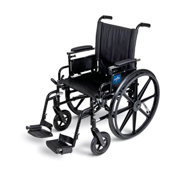 Picture of Medline K4  - Lightweight Wheelchair (Desk Length/Plus Accessories)
