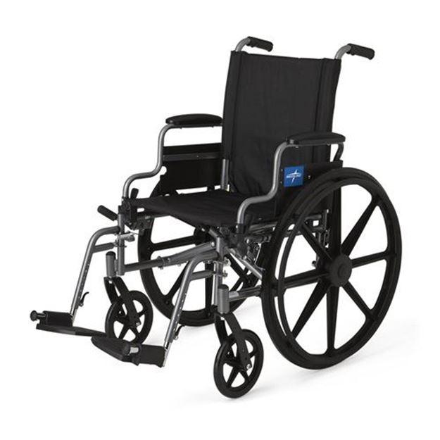Picture of Medline K4 Basic - Lightweight Wheelchair (Swing Back Desk-Length Armrest)