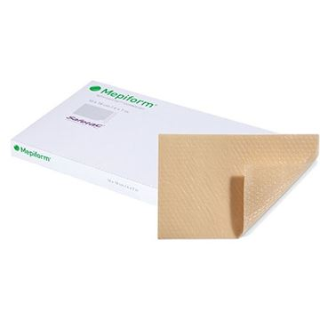Picture of Molnlycke Mepiform - Soft Silicone Dressing (Scar Treatment Therapy)