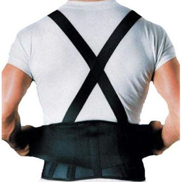 "Picture of Scott Specialties - WORKFORCE 9"" Industrial Back Support (with Suspenders)"