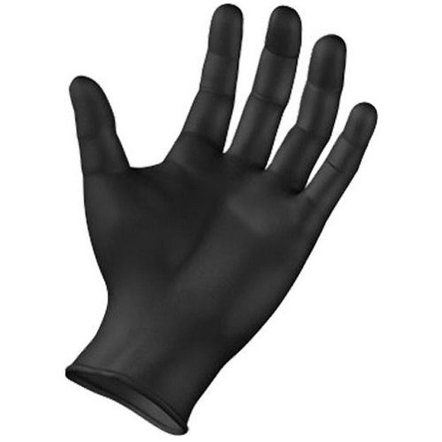 Picture of Sempermed SemperForce - Black Nitrile Exam Gloves