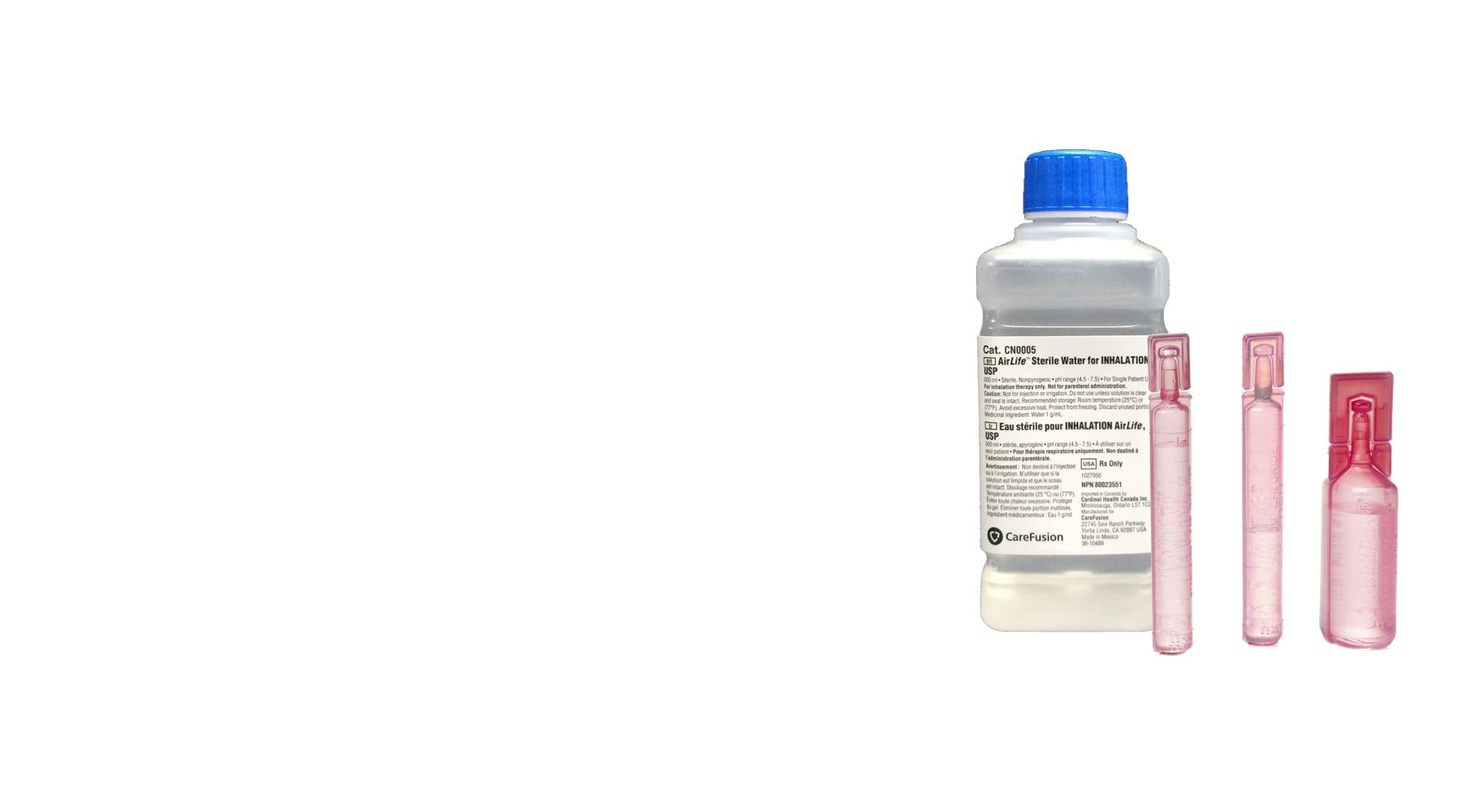 Picture for category Saline Solution & Sterile Water