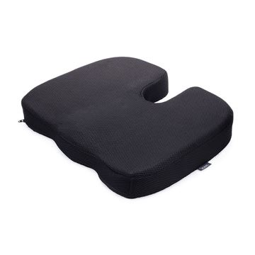 Picture of HeatlhSmart - Memory Foam Coccyx Cushion
