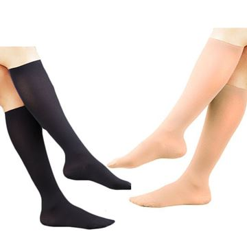 Picture of FLA Activa - Soft Fit Women's Microfiber 20-30 mmHg Compression Dress Socks (Knee High)