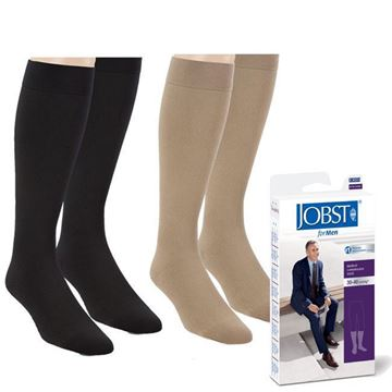 Picture of Jobst forMen - Men's 30-40mmHg Compression Support Socks
