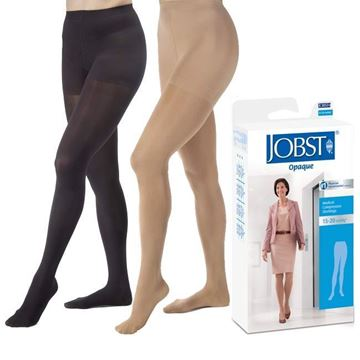 Picture of Jobst Opaque - Women's Pantyhose 15-20 mmHg Compression Support Stockings