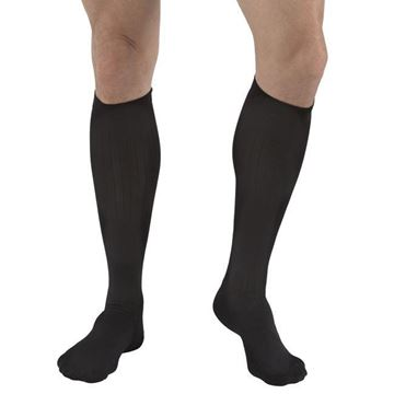 Picture of FLA Activa - Men's Microfiber 20-30 mmHg Compression Dress Socks (Knee High)