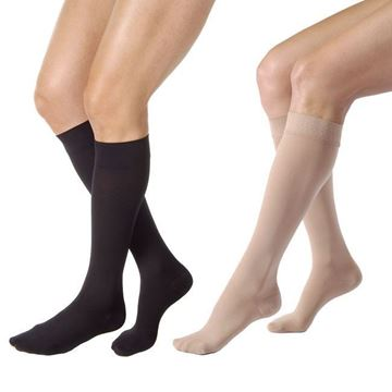 Picture of Jobst Relief - Knee High 20-30mmHg Compression Support Stockings