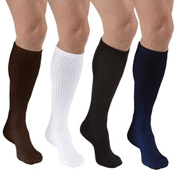 Picture of Jobst SensiFoot - Knee High 8-15mmHg Diabetic Compression Support Socks