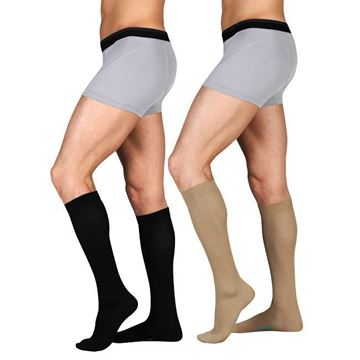 Picture of Juzo OTC- Knee High - 15-20mmHg Cotton Compression Support Socks