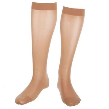 Picture of Mediven Assure - Knee High 15-20mmHg Compression Stocking (Silicone Band/Regular Calf)