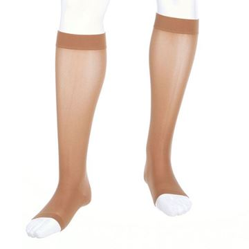 Picture of Mediven Assure - Knee High 20-30mmHg Compression Stocking (Silicone Band/Regular Calf/Open Toe)