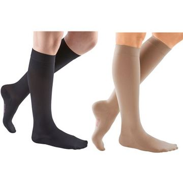 Picture of Mediven Comfort Series - Women's Knee High 15-20mmHg Compression Support Stockings