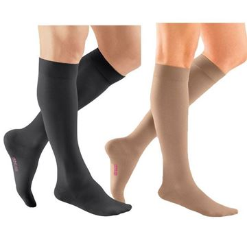 Picture of Mediven Plus - Knee High 20-30mmHg Compression Stocking (Extra Wide Calf/Silicone Band)