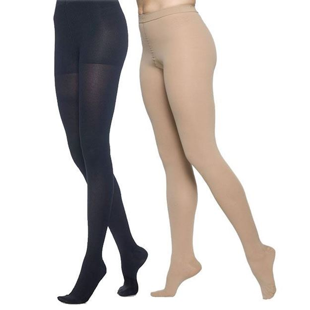 Picture of Sigvaris Dynaven Medical Legwear - Women's 30-40mmHg Compression Pantyhose