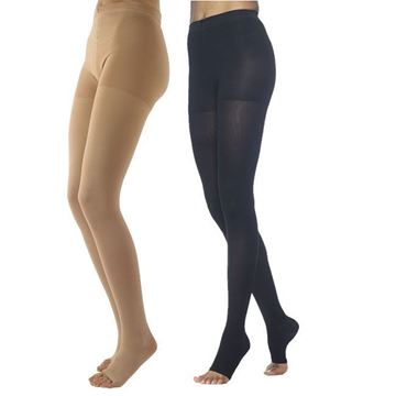 Picture of Sigvaris Dynaven Medical Legwear - Women's 30-40mmHg Compression Pantyhose (Open Toe)