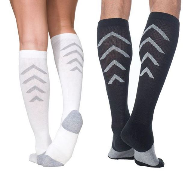 Picture of Sigvaris Athletic Recovery - 15-20mmHg Compression Support Socks