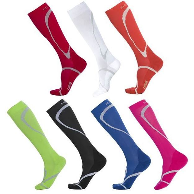 Picture of Sigvaris High Tech - Calf 20-30mmHg True Graduated Sport Compression Support Socks