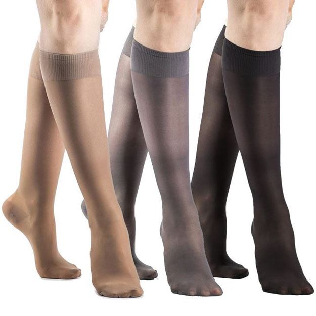Picture of Sigvaris Sheer Fashion - Women's 15-20mmHg Compression Support Stockings