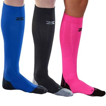 Picture of ZENSAH Fresh Legs  - Athletic Compression Support Socks (Knee High)