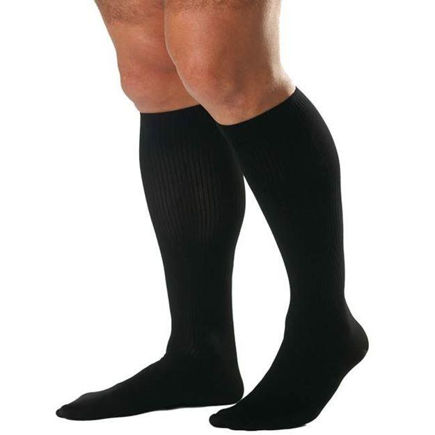 Picture of Jobst forMen - Full Calf Men's 20-30mmHg Compression Support Socks