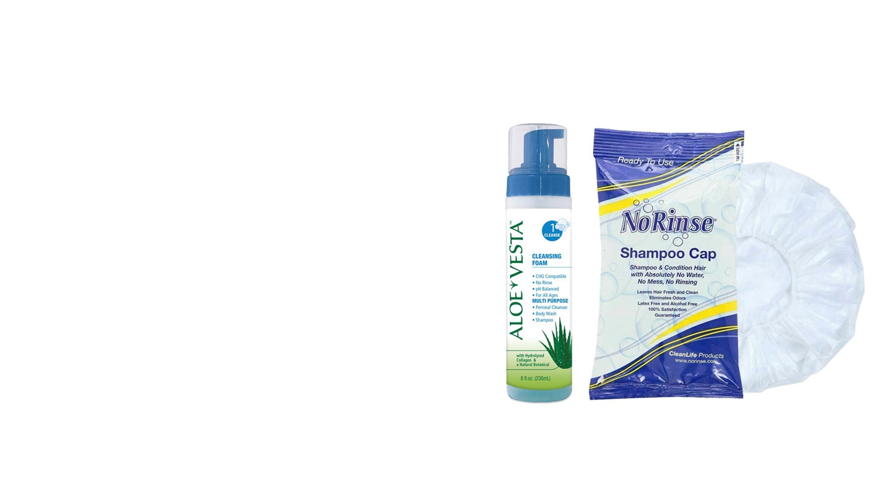 Picture for category No Rinse Body Wash & Shampoo