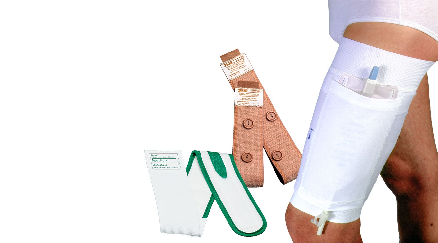 Picture for category Leg Bag Straps & Holders