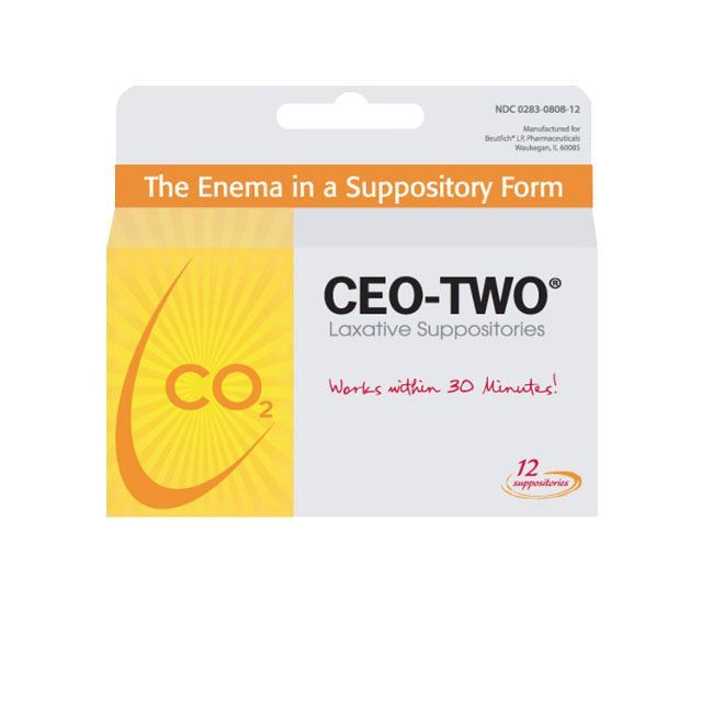 Picture of Box of 12 Suppositories